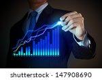 closeup image of businessman... | Shutterstock . vector #147908690