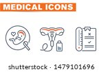 medical vector icons set  sign... | Shutterstock .eps vector #1479101696