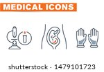 medical vector icons set  sign... | Shutterstock .eps vector #1479101723