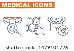 medical vector icons set  sign... | Shutterstock .eps vector #1479101726