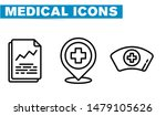 thin lines web icon set  ... | Shutterstock .eps vector #1479105626