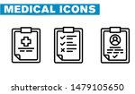 thin lines web icon set  ... | Shutterstock .eps vector #1479105650