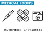thin lines web icon set  ... | Shutterstock .eps vector #1479105653