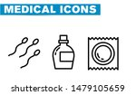 thin lines web icon set  ... | Shutterstock .eps vector #1479105659