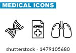 thin lines web icon set  ... | Shutterstock .eps vector #1479105680