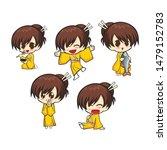 Chibi Cute Girl Character Design