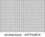 Small Black Dots on White. Vector - stock vector