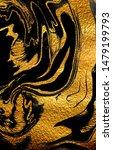 agate crystal. golden swirl ...   Shutterstock . vector #1479199793