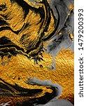 agate crystal. golden swirl ...   Shutterstock . vector #1479200393
