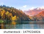 Bled  Slovenia Panoramic Sunse...