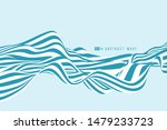 abstract bluw and white minimal ... | Shutterstock .eps vector #1479233723