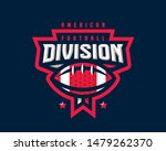 american football logo design.... | Shutterstock .eps vector #1479262370