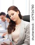 business concept   attractive... | Shutterstock . vector #147926780