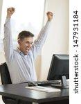 successful mature businessman... | Shutterstock . vector #147931184