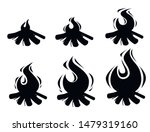 black silhouette set of...   Shutterstock .eps vector #1479319160