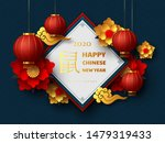 happy chinese new year 2020.... | Shutterstock .eps vector #1479319433