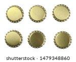 set new golden bottle cap for... | Shutterstock . vector #1479348860