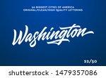 washington  usa hand made... | Shutterstock .eps vector #1479357086