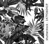 watercolor seamless pattern...   Shutterstock . vector #1479360419