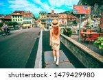 Interlaken  Switzerland   Aug...