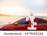 Santa Claus Showing Thumb Up...