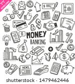 set of money and banking... | Shutterstock .eps vector #1479462446