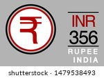 r  inr  356  rupee  india... | Shutterstock .eps vector #1479538493