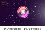 abstract user hud interface...