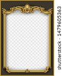 frame postcard cover gold... | Shutterstock .eps vector #1479605363