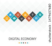 digital economy trendy ui...