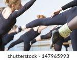 Group Of Ballet Dancers...