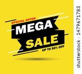 sale banner template design....   Shutterstock .eps vector #1479671783