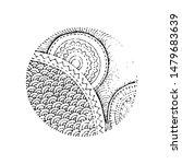 hand drawn grunge texture.... | Shutterstock .eps vector #1479683639