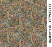 hand drawn seamless grunge... | Shutterstock .eps vector #1479683663