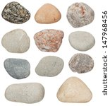 Various Color Stones Are...