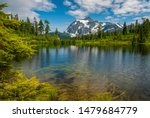 Picture Lake And Mt. Shuksan ...