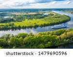 The Volga River  Russia....