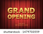 grand opening vector banner ... | Shutterstock .eps vector #1479703559
