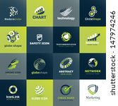 set of icons for business and... | Shutterstock .eps vector #147974246