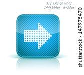vector illustration of apps...
