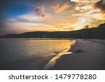 Koh Rong Island  Sunset And...