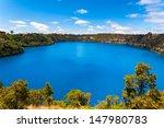 The Incredible Blue Lake At Mt...