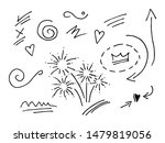 vector hand drawn collection of ... | Shutterstock .eps vector #1479819056