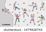 people characters enjoying... | Shutterstock .eps vector #1479828743