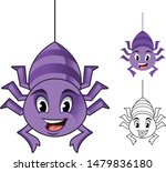 adorable spider hanging on the... | Shutterstock .eps vector #1479836180