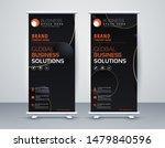 business roll up. standee... | Shutterstock .eps vector #1479840596
