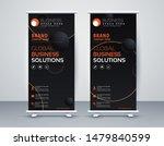 business roll up. standee... | Shutterstock .eps vector #1479840599