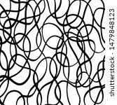 grunge brush pattern. texture.... | Shutterstock .eps vector #1479848123