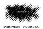 grunge halftone spot. black and ... | Shutterstock .eps vector #1479859523