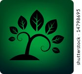 stylised tree | Shutterstock .eps vector #14798695